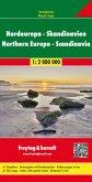 Freytag & Berndt Autokarte Nordeuropa, Skandinavien; Europa del Norte, Escandinavia; Noord-Europa, Scandinavie. Northern