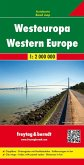 Freytag & Berndt Autokarte Westeuropa; Europa Occidental; West-Europa