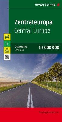 Freytag & Berndt Autokarte Zentraleuropa; Centr...