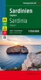Freytag & Berndt Autokarte Sardinien - Cagliari, Top 10 Tips, Autokarte 1:150.000; Sardinia, Cagliari; Sardaigne, Caglia
