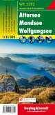 Freytag & Berndt Wander-, Rad- und Freizeitkarte Attersee, Mondsee, Wolfgangsee