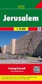 Freytag & Berndt Stadtplan Jerusalem; Jeruzalem