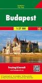 Freytag & Berndt Stadtplan Budapest Stadtplan 1:27.500; Boedapest