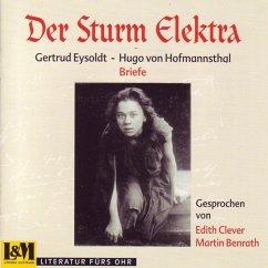 Der Sturm Elektra-Briefwechsel - Martin Benrath/Edith Clever