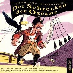 Der Schrecken der Ozeane, 5 Audio-CDs - Katzenstein, Leuw von