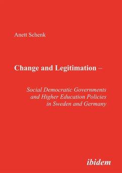 Change and Legitimation - Schenk, Anett