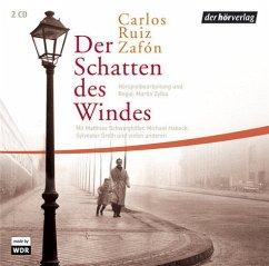 Der Schatten des Windes / Barcelona Bd.1 (2 Audio-CDs) - Ruiz Zafón, Carlos
