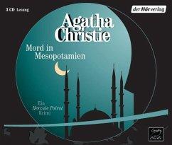 Mord in Mesopotamien / Ein Fall für Hercule Poirot Bd.14 (3 Audio-CDs) - Christie, Agatha