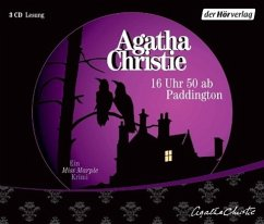 16 Uhr 50 ab Paddington / Ein Fall für Miss Marple Bd.8 (3 Audio-CDs) - Christie, Agatha