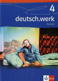 deutsch.werk 4. 8. Schuljahr. Schülerbuch. Gymn...