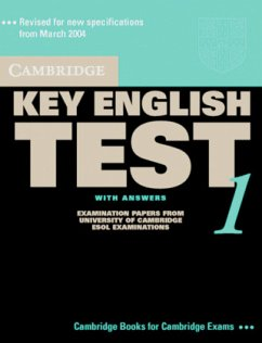 Student's Book with answers, w. 2 Audio-CDs / Cambridge Key English Test, New Edition Vol.1