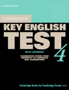 Cambridge Key English Test 4. Self Study Pack. Student's Book with answers. With Audio-CD. New Edition