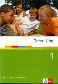 Green Line 1. Workbook mit CD - Horner, Marion