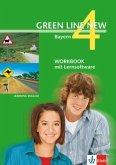 Green Line New 4. Workbook mit CD-ROM. Bayern