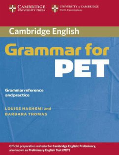 Cambridge Grammar for PET. Book without answers