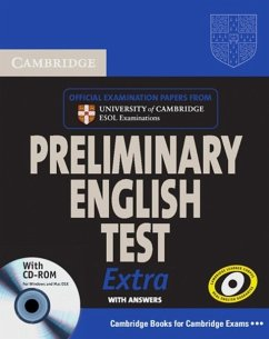 Cambridge Exams Extra: PET. Self-study Pack / Mit CD-ROM