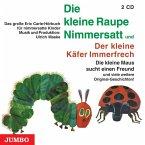 Die kleine Raupe Nimmersatt/ Der kleine Käfer Immerfrech, 2 Audio-CDs