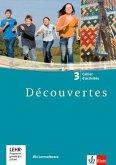 Découvertes.. Band.3 Cahier d'activites, 3. Lernjahr, m. CD-ROM