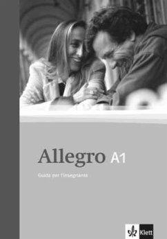 Allegro / Guida per l´insegnante - Lehrerbuch (A1)