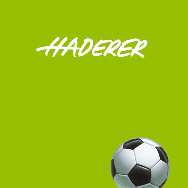 Apropos Fußball - Haderer, Gerhard