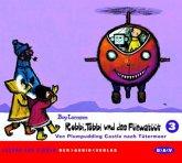 Von Plumpudding Castle nach Tütermoor, 2 Audio-CDs / Robbi, Tobbi und das Fliewatüüt, Audio-CDs 3