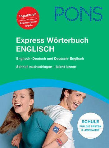 pons express w rterbuch englisch englisch deutsch