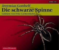 Die schwarze Spinne, 3 Audio-CDs - Gotthelf, Jeremias