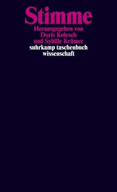 Stimme - Kolesch, Doris / Krämer, Sybille (Hgg.)