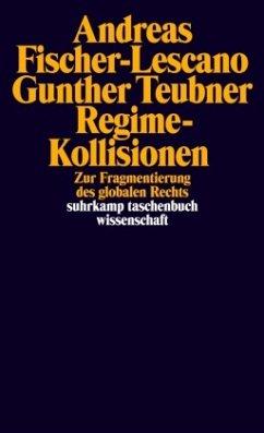 Regime-Kollisionen - Fischer-Lescano, Andreas; Teubner, Gunther
