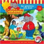 Der Geheimnisvolle Brief / Benjamin Blümchen Bd.75 (1 Audio-CD)
