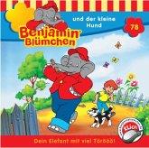 Benjamin Blümchen und der kleine Hund / Benjamin Blümchen Bd.78 (1 CD-Audio)