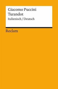 Turandot, Textbuch Deutsch-Italienisch