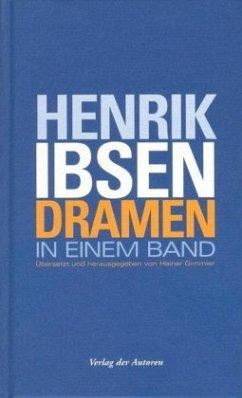 Dramen in einem Band - Ibsen, Henrik