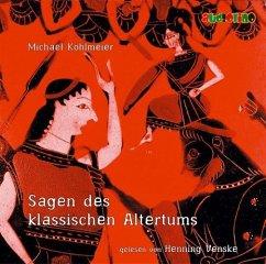 Sagen des klassischen Altertums, 2 Audio-CDs - Köhlmeier, Michael