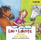 Lou und Lakritz - Ein Pony zum Verlieben, 2 Audio-CDs