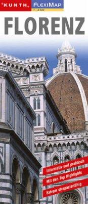 KUNTH FlexiMap Florenz 1 : 8 500