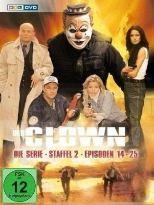 Der Clown - Die Serie Staffel 2 2 DVDs