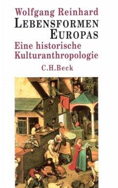 Lebensformen Europas. Sonderausgabe - Reinhard, Wolfgang