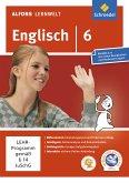 6. Schuljahr, 1 CD-ROM / Alfons Lernwelt, Englisch