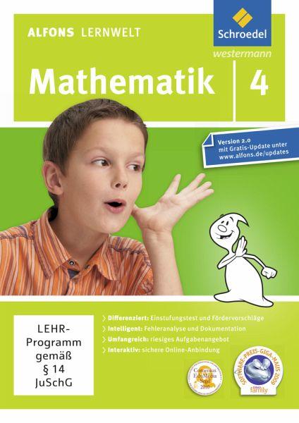 Alfons Lernwelt: Mathematik - 4. Schuljahr (Ausgabe 2009) (PC+Mac)