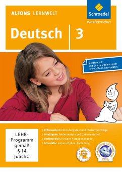 3. Schuljahr, DVD-ROM / Alfons Lernwelt, Deutsch