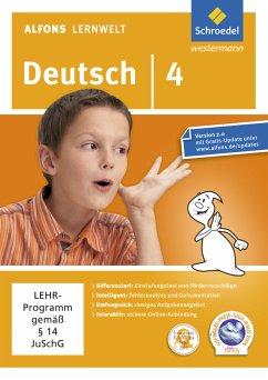 4. Schuljahr, DVD-ROM / Alfons Lernwelt, Deutsch