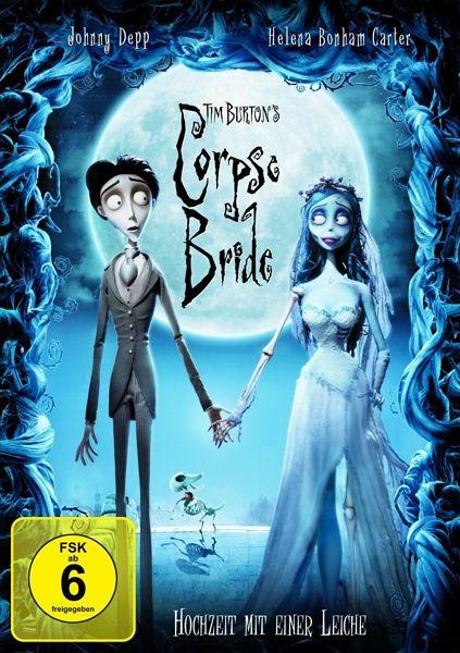 Tim Burton's Corpse Bride, DVD