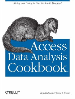 Access Data Analysis Cookbook: Slicing and Dici...