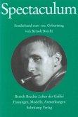 Spectaculum 65, Sonderband zum 100. Geburtstag von Bertolt Brecht