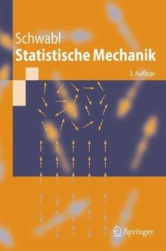 Statistische Mechanik - Schwabl, Franz