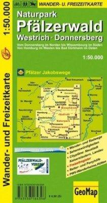 GeoMap Karte Naturpark Pfälzerwald
