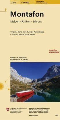 Landeskarte der Schweiz Montafon