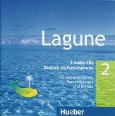 3 Audio-CDs / Lagune - Deutsch als Fremdsprache Bd.2