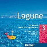 3 Audio-CDs / Lagune - Deutsch als Fremdsprache Bd.3
